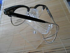 GOING OUT OF BUSINESS SALE SHURON RONSIR ZYL  BLK 50X22X165 CABLE TEMPLES *HOOK""