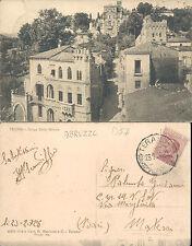 TERAMO,BORGO DELLA MONICA,VIAGGIATA 1928 - F.P.-ABRUZZO(TE) N.43051