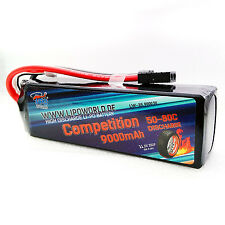 Lipo World TRAXXAS TUNING Akku 3S 11,1V 9000mAh 50C-80C TRA2878 Slash VXL 8400