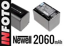 Akku Newell 2060 mAh NP-FV70 f. Sony HDR-XR HDR-CX DCR-SX HDR-HC DCR-SR Series