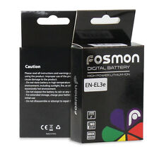 Fosmon Replacement Battery Pack for EN-EL3e D700 D300 D200 D100 D90 D80 D70