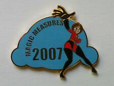 2007 DISNEYLAND CAST WDTC MAGIC MEASURES MRS INCREDIBLE (HELEN) LE 250 AWARD PIN