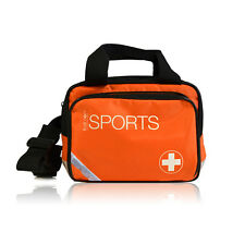 EMPTY FIRST AID KIT SPORTS GRAB BAG OR LARGE BUM BAG WITH COMPARTMENTS
