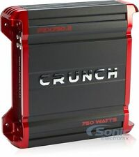 Crunch PZX750.2 750W 2-Channel Powerzone Class AB Car Amplifier Car Audio Amp