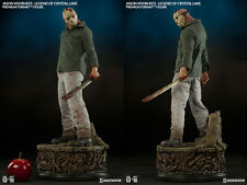 Sideshow Friday the 13th 3 Jason Voorhees  Premium Format Figure Statue In Hand
