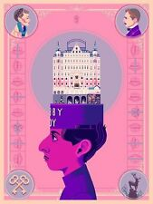Glen Brogan ZERO The Grand Budapest Hotel Bottleneck Print #/50