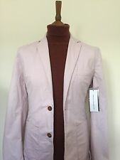 Brand New Chalk Pink French Connection Blazer XS 36R RRP £85 Jacket