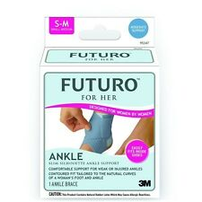 Genuine 3M Futuro Slim Silhouette Ankle Support for Her L&R *New
