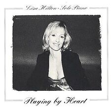 LISA HILTON - SOLO PIANO - PLAYING BY HEART - 15 TRACK MUSIC CD - NEW - E739