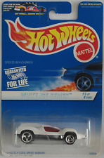 Hot Wheels - Speed Machine weiß Neu/OVP US-Card