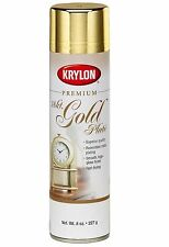 Krylon 18 kt Gold Plate Premium Metallic Spray Paint, 8 oz