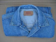 Levi's Jacket Jeans Mens Size XS Blue Made in U.S.A.