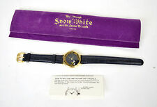 Snow White And The Seven Dwarfs Evil Queen Magic Mirror Watch LTD 750 Disney