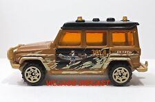 "2006 Matchbox ""Mummy's Gold"" Mercedes-Benz 280 GE MATTE BROWN/MINT"