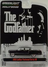 Movie The Godfather 1955 Cadillac Fleetwood Series 60 schwarz 1:64 Greenlight