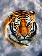 "Tiger Latch Hook CHART ONLY 20"" x 26.4"" Inches (see below)"
