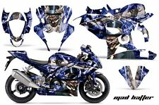 AMR Racing Graphic Kit Wrap Part Suzuki GSXR 1000 Street Bike 05-08 MAD HATTER