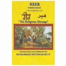Heer Waris Shah : Translated by M. Munawar Butt by Sayyed Shah (2013, Paperback)