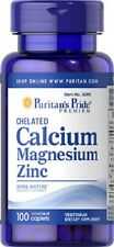 CALCIUM, MAGNESIUM AND ZINC 100 COMP. ( osteoporosis )