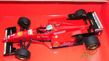 1/18 F1 FERRARI 412 T3 V10 MICHAEL SCHUMACHER 1996 BY MINICHAMPS MINT