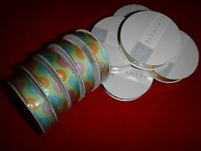 10 AMERICAN CRAFTS ELEMENTS Premium Ribbon Spools For Gift Wrapping *Unopened*