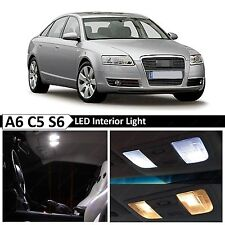 1998-2004 Audi A6 C5 S6 21x White Interior LED Lights Package Error Free + TOOL