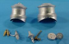 On3/On30 WISEMAN PARTS #O502 SMALL LOCO OR SHAY FLUTED DOME SET WITH DETAILS