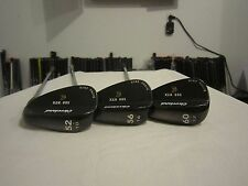 Cleveland 588 RTX Black Pearl Wedge Set - 52* - 56* - 60* - Dynamic Gold Steel