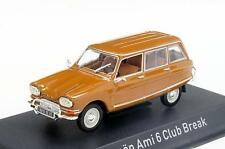 Citroen Ami 6 Club Break 1968 Dark Gold   1/43  153520  Norev