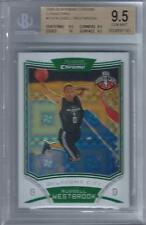 2008-09 Russell Westbrook Bowman Chrome Xfractor RC- BGS 9.5 w/10 sub- #108/299