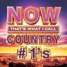 Now Country #1s - Various Artist (2016, CD NIEUW)
