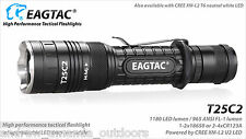 Eagletac T25C2 XLamp XM-L2 LED Flashlight - 1180 lumen - BASE model