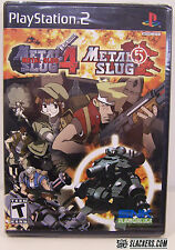 Metal Slug 4/Metal Slug 5 (PlayStation 2) SEALED!!!  NEW!!