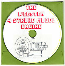 Webster 4 stroke model engine  Hit & Miss Build Yourself CD-ROM