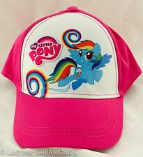 NWT Girl's My Little Pony Baseball Cap Hat Rainbow Dash Hasbro