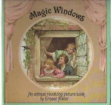 Magic windows an antique revolving picture book ernest nister 1980 reprint hc