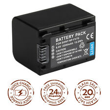 Battery For SONY NP-FV50 FV70 FV100 NP-FH30 FH50 FH60 NP-FP50 DCR-SX85 HDR-CX760