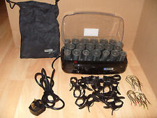 RARE BABYLISS HEATED HAIR ROLLERS CURLERS THERMO PATRICK CAMERON WOMENS BEAUTY