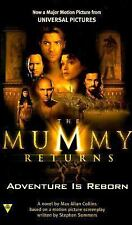 The Mummy Returns by Max Allan Collins (2001, Paperback) VTG Brand New