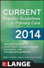 CURRENT Practice Guidelines in Primary Care 2014 Lange Medical Books
