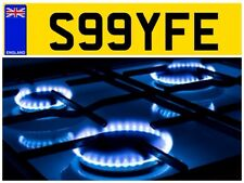 S99 YFE HEATING ENGINEER COMPANY VAN PLUMBER GAS SAFE PRIVATE NUMBER PLATE WATER