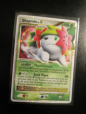 NM Pokemon SHAYMIN LV.X Card PLATINUM Set 126/127 Ultra Rare Holo TCG 100 HP