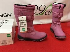 New Cougar Destiny Canadian Womens 10 Pink Waterproof Winter Snow Rain Boots