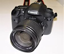 Canon EOS 7D Digital SLR Camera - Black (Kit w/ EF-S IS 18-135mm Lens)