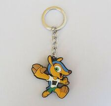 New FIFA World Cup 2014 Brazil PVC Key chains FULECO Goalie Kepper ( 2 sided )