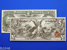 Replica $5 1896 Silver US Paper Money Currency Copy