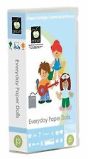 *New* EVERYDAY PAPER DOLL People Cricut Cartridge Factory Sealed Free Ship
