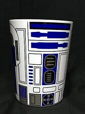 R2-D2 Star Wars Plastic Wastebasket Trash Can  ** FAST SHIPPING