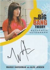 Big Bang Theory Seasons 6 & 7: MH1 Margo Harshman - Alex Jensen Autograph card