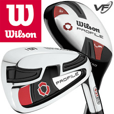 """NEW 2017"" WILSON PROFILE VF MENS COMBO SET 6-SW IRONS +5 HYBRID RESCUE CLUB"